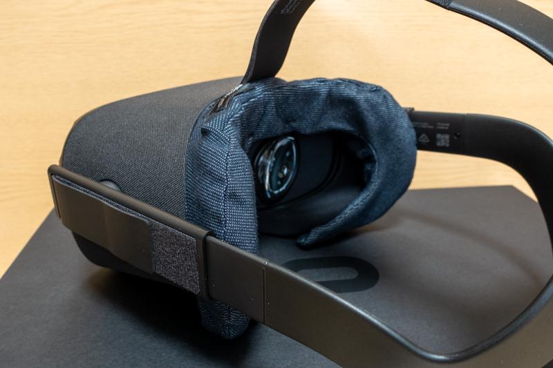 VRカバー装着時